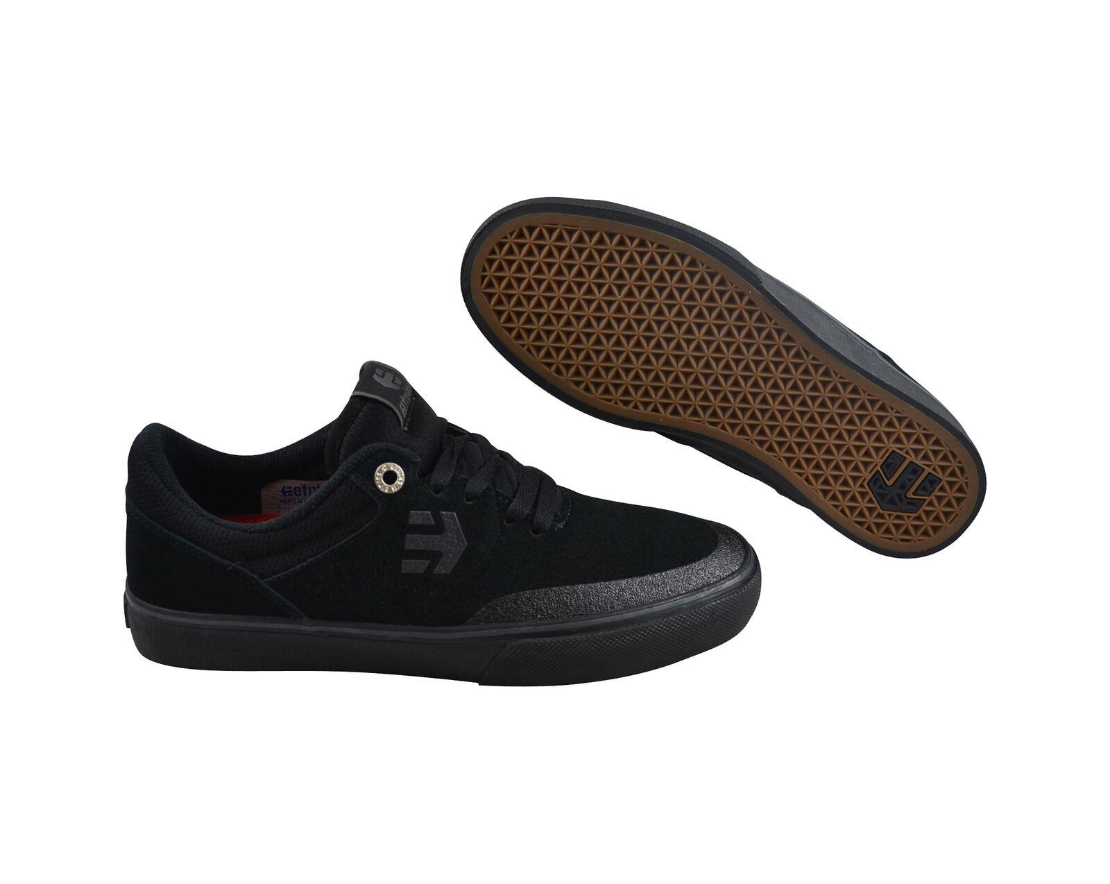 Etnies Marana Vulc schwarz schwarz gum Skater Turnschuhe Schuhe schwarz