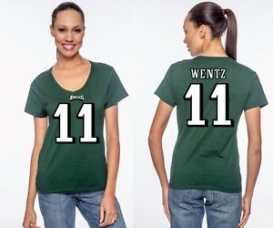 Image is loading Carson-Wentz-Philadelphia-Eagles-11-NFL-Jersey-Style- b46fb989c