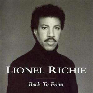 LIONEL RICHIE - BACK TO FRONT [HOLLAND BONUS TRACKS] NEW CD