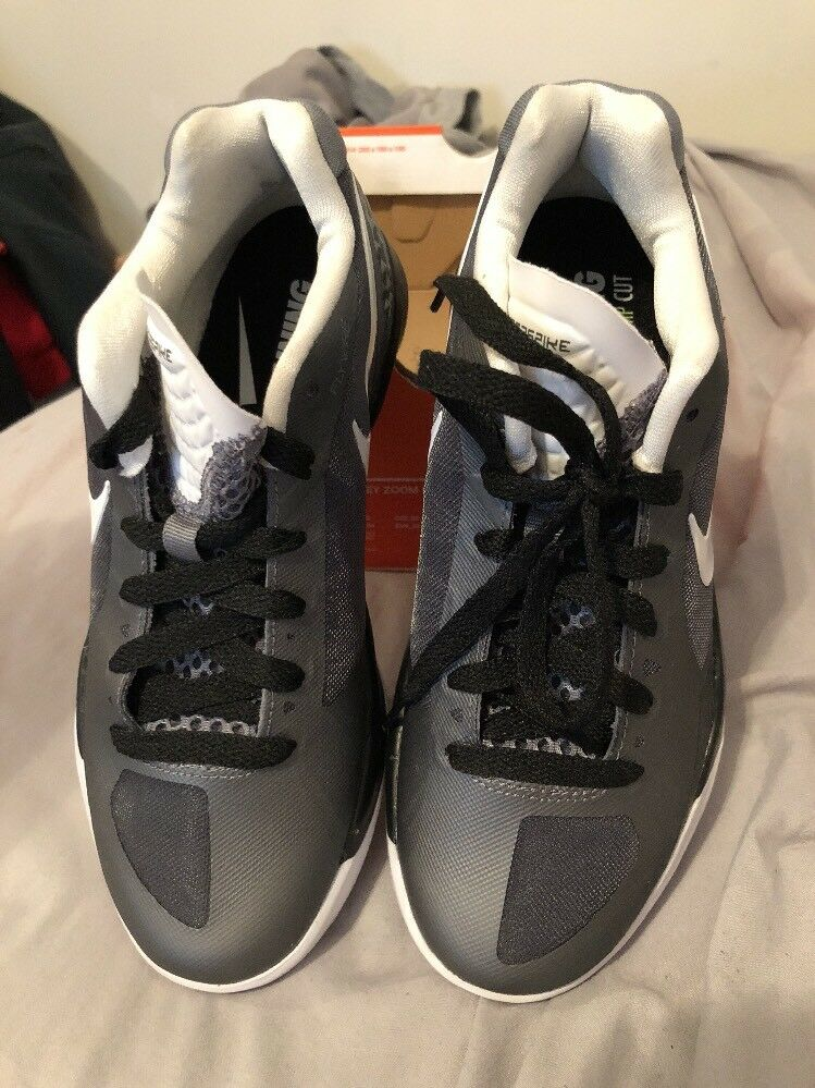 Nike Women's Volley Zoom Hyperspike Sz Sz Sz 5.5  Grey White Black 662aaa