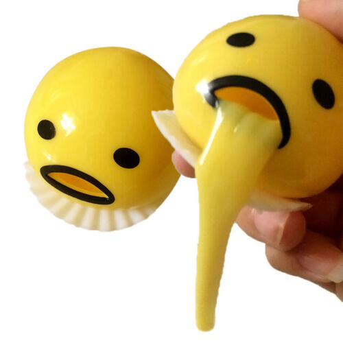 Gudetama Vomiting Egg Tricky Toy Yolk Halloween Back Shocker Joke Gifts vbB Kw
