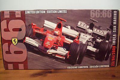 Generoso 1/18 Michael Schumacher Ferrari 248f1 2006 66 Poli-mostra Il Titolo Originale