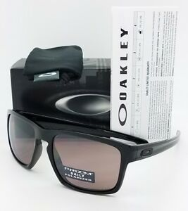 92c05218e33 Image is loading NEW-Oakley-Sliver-sunglasses-Black-Prizm-Daily-Polarized-