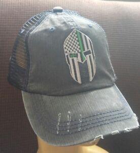 fdc993d1 Image is loading Spartan-Helmet-Military-Baseball-Ball-Cap-U-S-A-Flag-