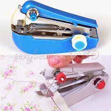 Home Garden Small Helper Pocket Crafts Mini Handheld Sewing Machine Sergers New