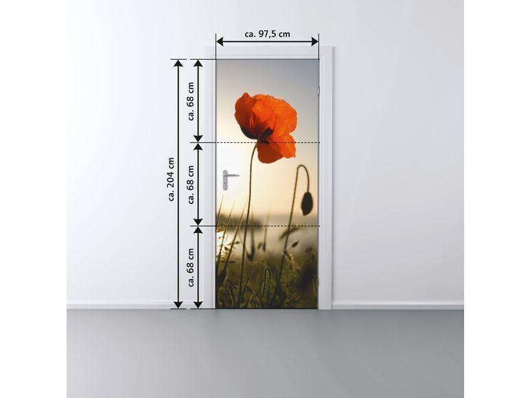 MELINERA ® Tür Dekofolie B 97,5 x H 204 cm Hochwertiger Fotodruck