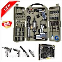 Professional 71 Piece Air Tools Accessories Hammer Kit Set Shop Mechanics Tool