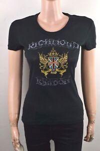 Crew John Neck Shirt Ladies T Upper shirt Richmond Stretch Part Short Sleeve rRqrzv61