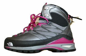 a91ca74c0 Details about $350 NEW The North Face Womens Verto S4K GTX Boots Size 7  Grey Pink Snow Shoes