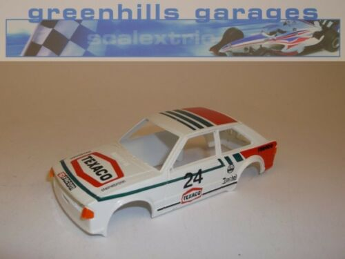 Greenhills Scalextric Ford Escort XR3i Texaco Body Shell C441 Used S1861