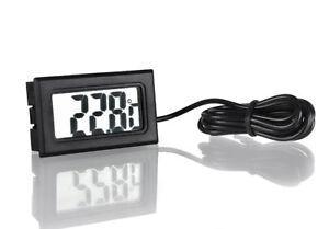 Kühlschrank Thermometer Digital : Lcd digital thermometer tester für kühlschrank aquarium ebay