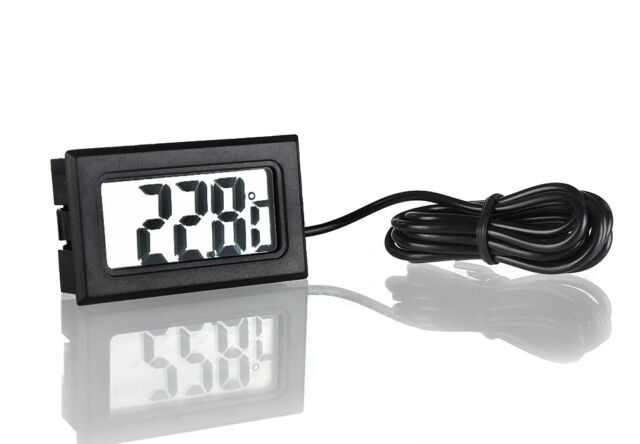 Kühlschrank Thermometer : Lcd digital thermometer tester für kühlschrank aquarium ebay