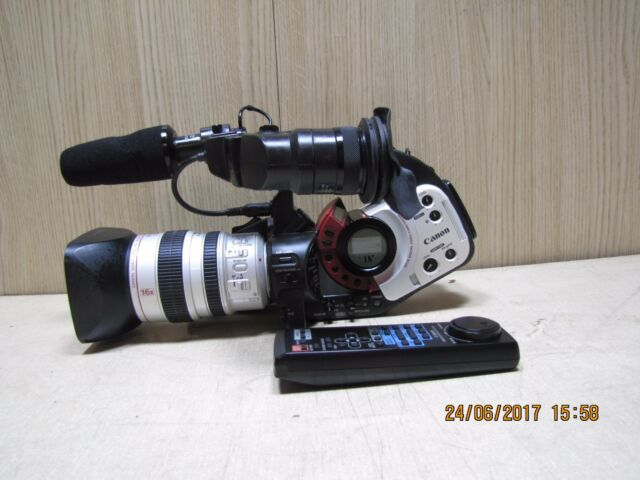 Canon XL1 professional digital camcorder 3CCD Pal Mini DV + Remote video camera