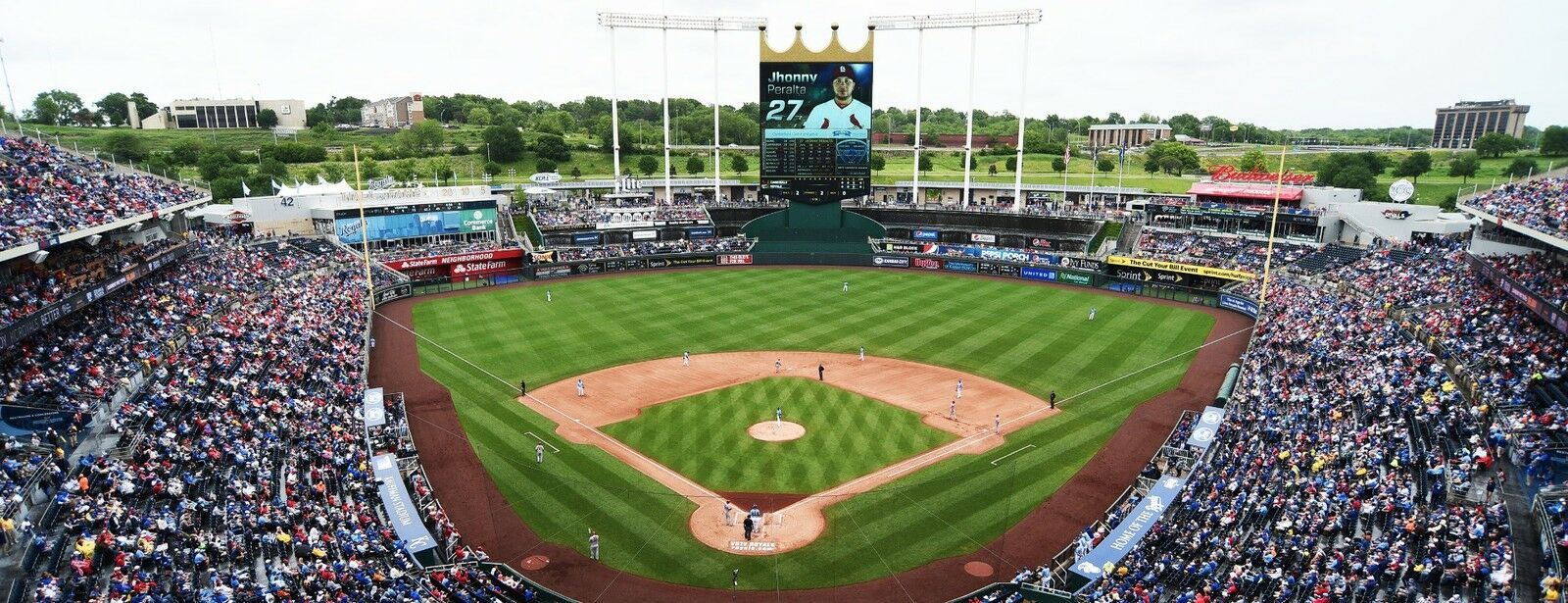 Milwaukee Brewers at Kansas City Royals
