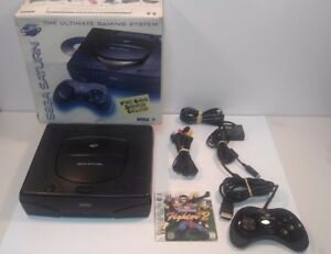 Sega-SATURN-SYSTEM-Vintage-Console-IN-BOX-w-Virtua-Fighter-2-Game-TESTED-3D