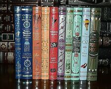 10 Volume Leather Bound  Collectible Illustrated New Sealed Classics Gift  Set