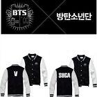 KPOP BTS Baseball Uniform Bangtan Boys In Bloom Varsity Jacket Coat Outwear