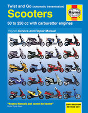 HAYNES 4082 SERVICE REPAIR OWNER MANUAL TWIST GO AUTOMATIC TRANSMISSION SCOOTERS