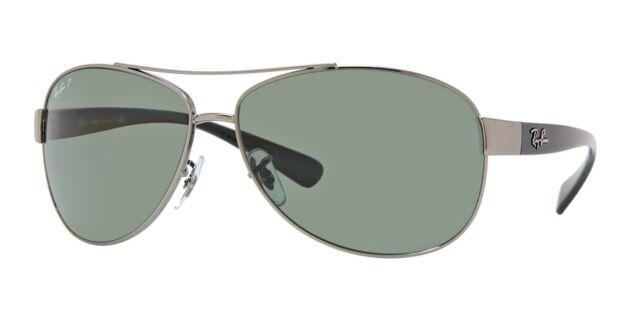Occhiali da sole Ray-ban 3386 Gunmetal Polarizzati Verde 004 9a ... 474943ad53f03
