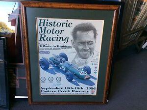 SIR-JACK-BRABHAM-GENUINE-SIGNED-HISTORIC-MOTOR-RACING-POSTER