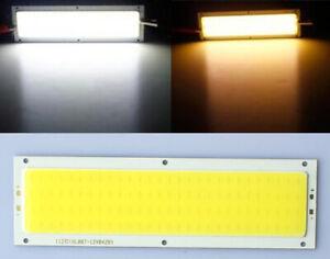 2x-COB-LED-Panel-Lampe-Strahler-Spot-Licht-Weis-120x36mm-10W-12V-Deutsche-Post