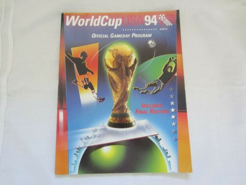 1994 WORLD CUP USA OFFICIAL GAMEDAY PROGRAMME CHICAGO EDITION