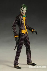 Batman-Joker-Arkham-Asylum-DC-PVC-Collectible-Movable-Action-Figure-Model