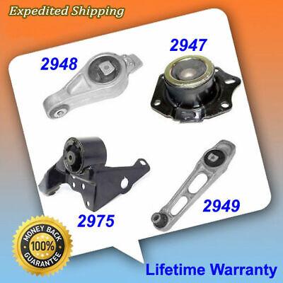 For 2000-2001 Dodge Neon 2.0 L4 Engine /& Trans Mount Auto 2947 2948 2949 2975
