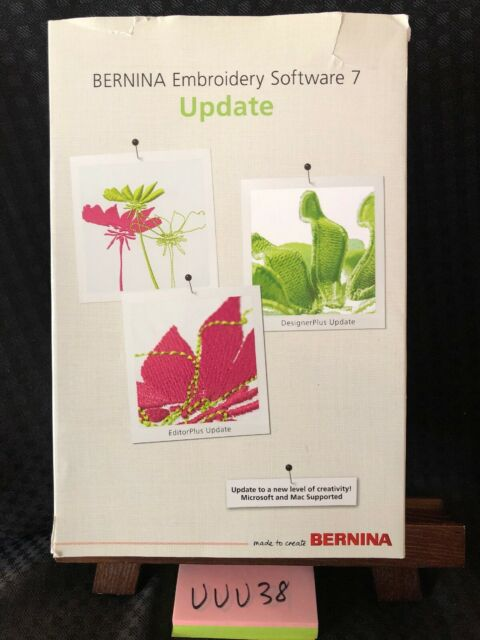 Bernina Designerplus Editorplus Embroidery Software Version 7 Update No Dongle For Sale Online