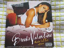 Brooke Valentine – Chain Letter Advance Virgin – CDVUSDJ 263 Promo CD Album