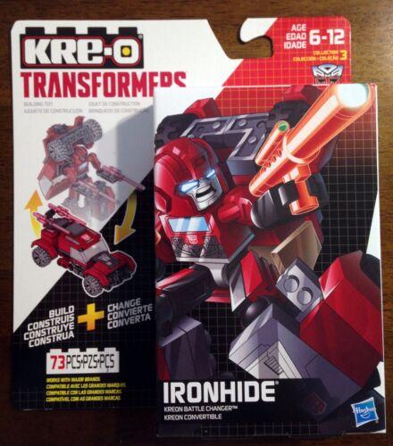 IRONHIDE BATTLE CHANGER Transformers KRE-O Set MISB new kreo kreon G1 iron hide