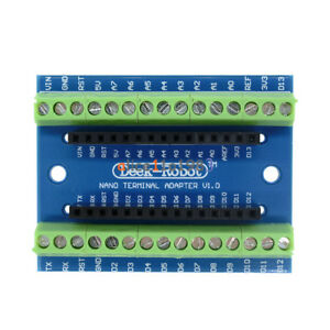 Nano-Terminal-Adapter-for-the-Arduino-Nano-V3-0-AVR-ATMEGA328P-AU-Module-Board
