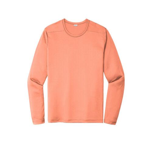 Mens Long Sleeve Dri Fit UV Resist Performance Moisture Wicking T-Shirt ST420LS