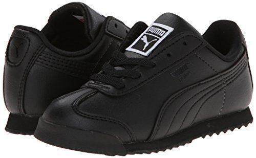 PUMA Roma Basic Kids Sneaker Toddler Little Kid Big Kid Black Sz 9c 6848