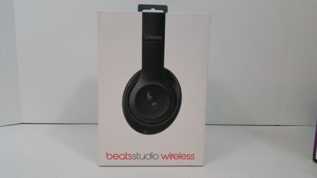 *New* Beats by Dr. Dre - Beats Studio Wireless Over-Ear Headphones - Black