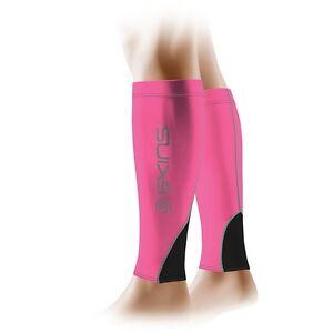 d2b7c02b88f8f1 Image is loading Skins-Compression-Unisex-Calf-Tights-MX-Pink-Black