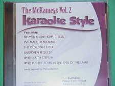 The McKameys~#2 ~ Christian ~Daywind ~Karaoke Style ~ When Faith Steps In ~ CD+G