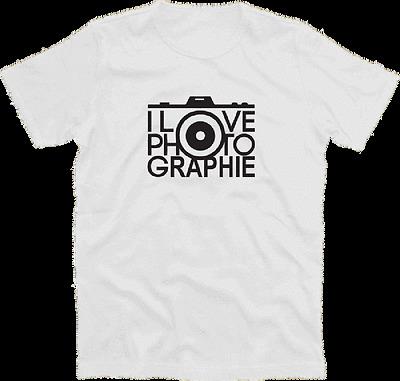 I love Fotografie photography fotoapparat Funshirt Design T-Shirt S-XXXL