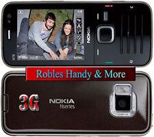 Nokia N78 Braun (Ohne Simlock)Smartphone 3,2MP WLAN 3G GPS 4BAND BLITZ RADIO OVP