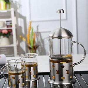 3-8-Taza-Acero-Inoxidable-Cristal-Cafetera-de-embolo-Cafe-Filtro-EMBOLO
