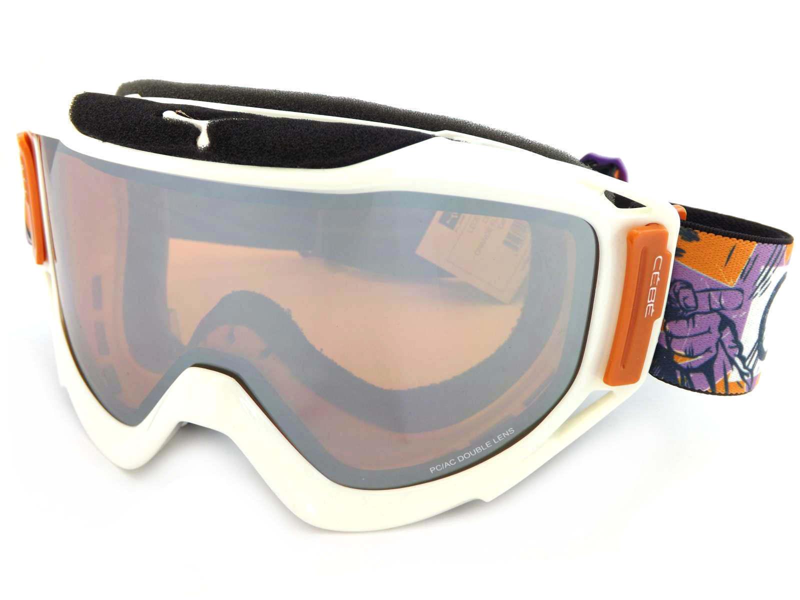 Cébé - Legend L L L Gafas Esquí Snowboard Pow Blanco   Naranja Espejo Cat.2 CBG25 5f064d