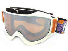 CEBE - LEGEND L ski snowboard Goggles POW WHITE/ Orange Mirror Cat.2 CBG25