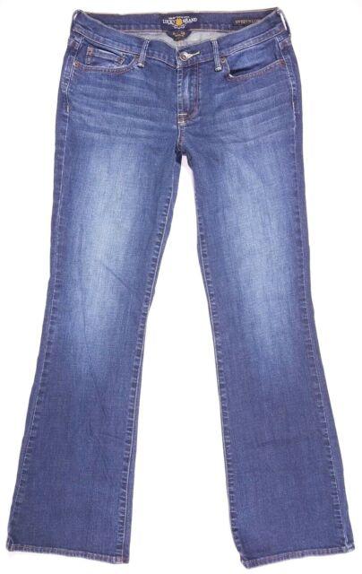 Lucky Brand Sweet N' Low Boot Cut Jeans Size 6 Women's