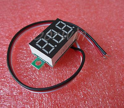 10PCS 3-wire 0.36`LED DC Digital Voltmeter Panel Meter 0-32V Blue COLOR