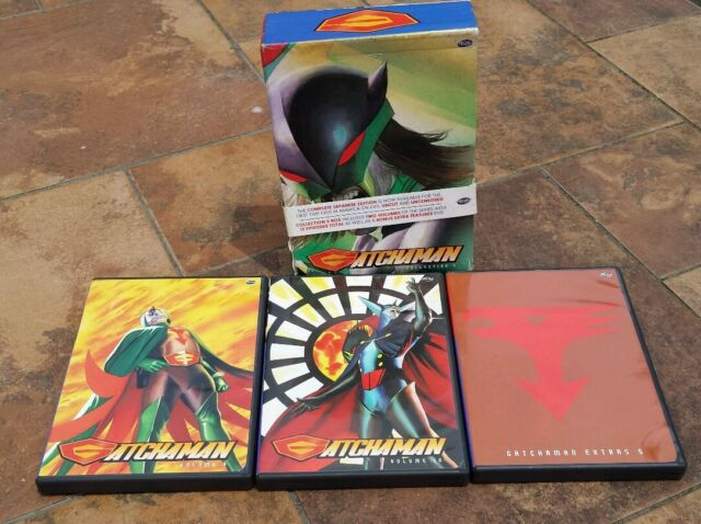 GATCHAMAN Collection 5 VOLUME 9 & 10 with Extras 5 DVD English & Japanese