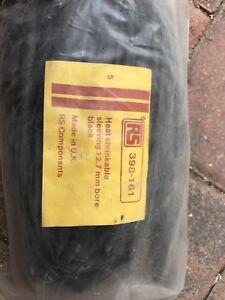 12.7mm Heatshrink Sleeving Black 1.2m