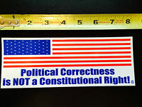 Political Correctness Is Not A Constitutional Right Vehicle Magnet