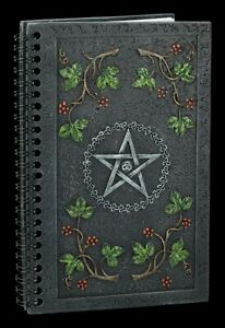 Notebook - Wicca Book Of Shadows - Nemesis Now Diary Notebook Gift