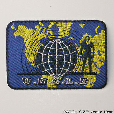 THE MAN FROM UNCLE - Cool U.N.C.L.E. TV Series Patch!