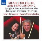 Music for Flute & Percussion, Vol. 2 (CD, Jun-2010, Naxos (Distributor))